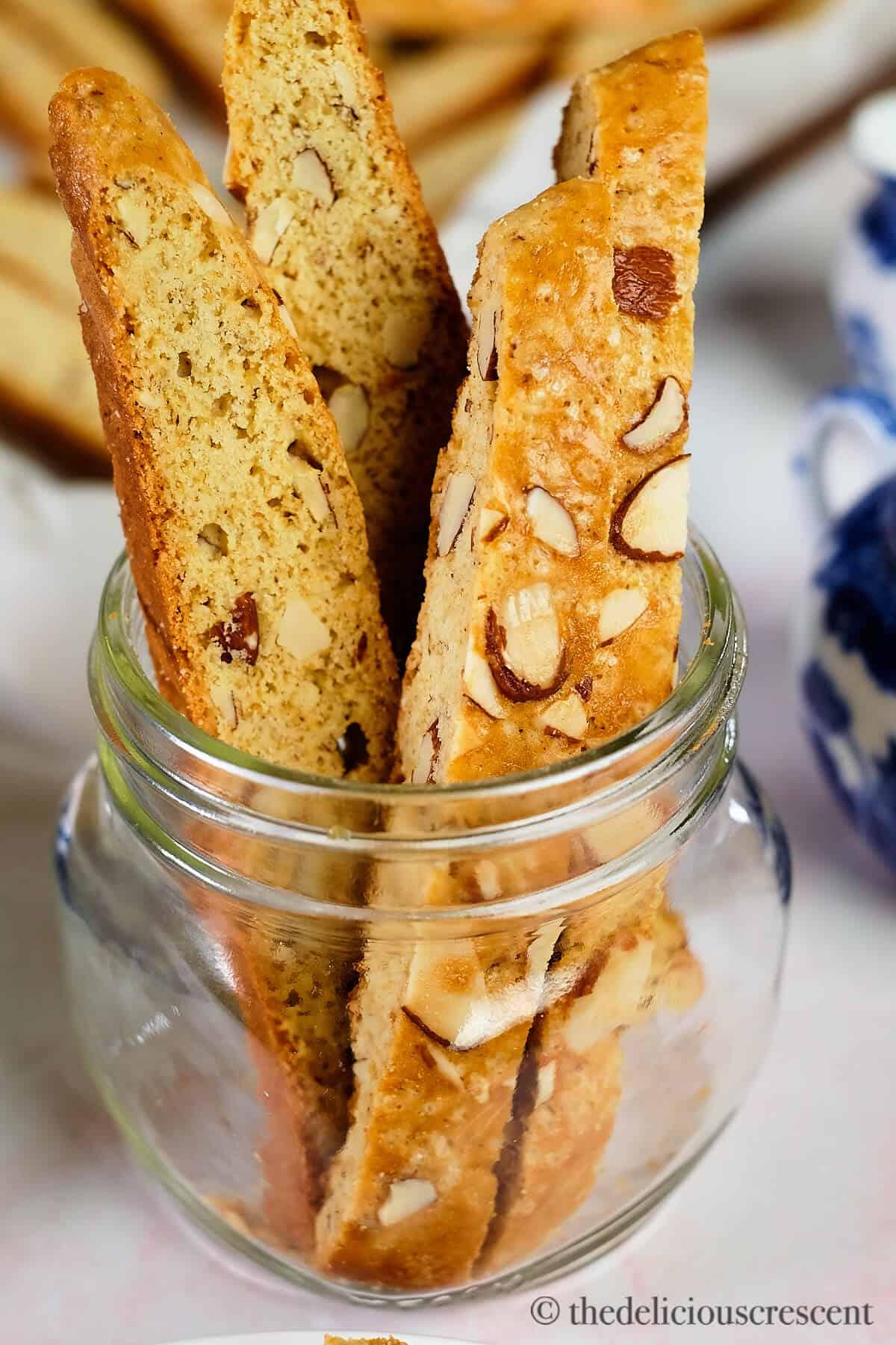 Anise Almond Honey Biscotti
