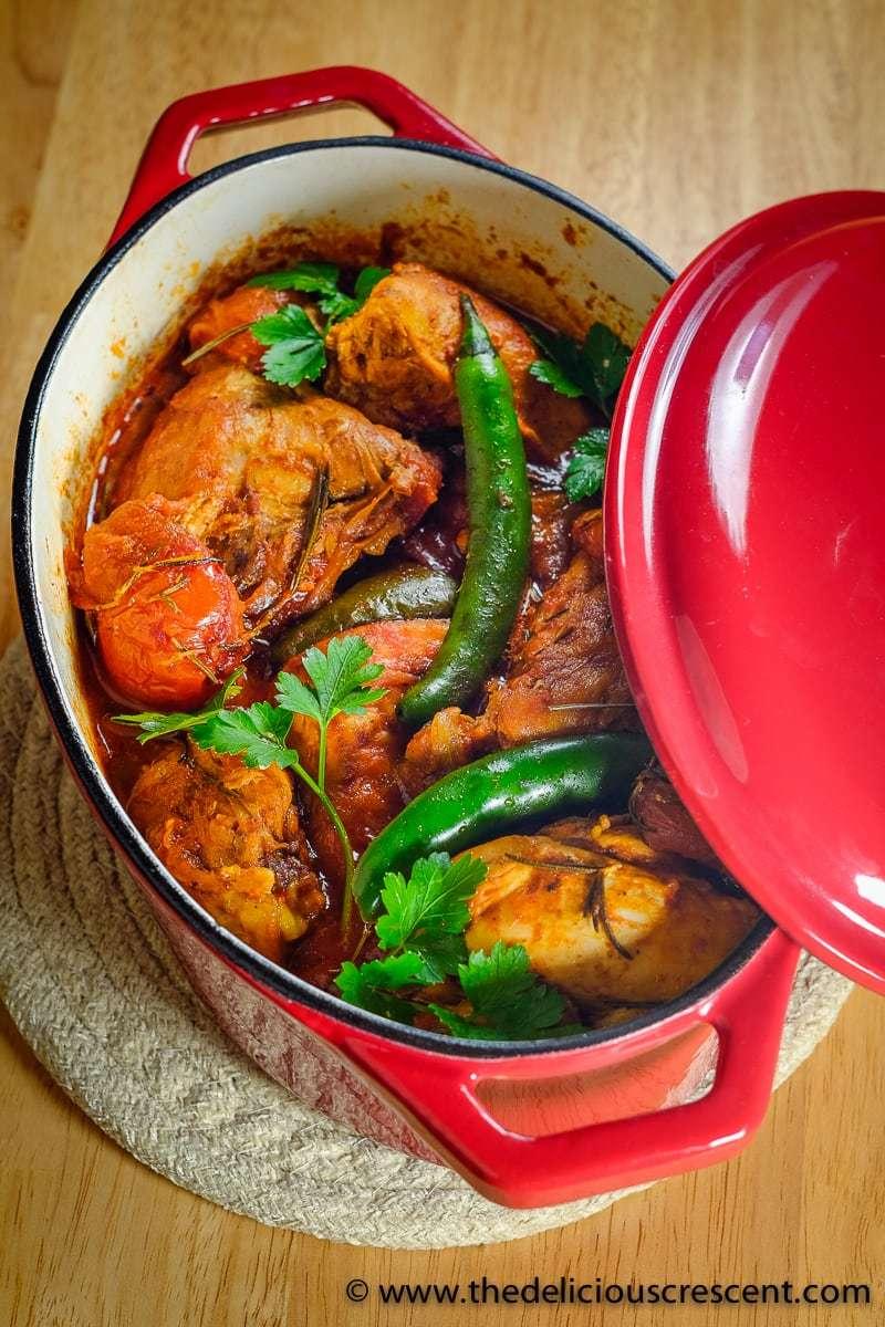 Spicy Rosemary Tomato Chicken