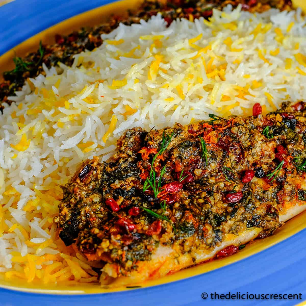 Almond Crusted Baked Fish The Delicious Crescent