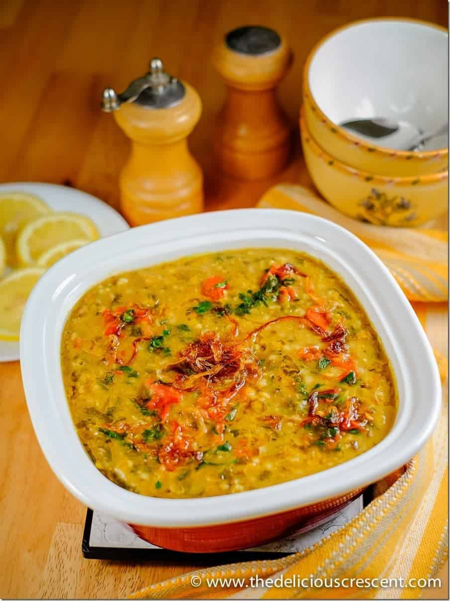 Methi Chicken Khichda is a tantalizing spicy Indian style savory porridge – an easy, balanced, nutritious one pot steaming meal – with high fiber, good protein and healthy fats!