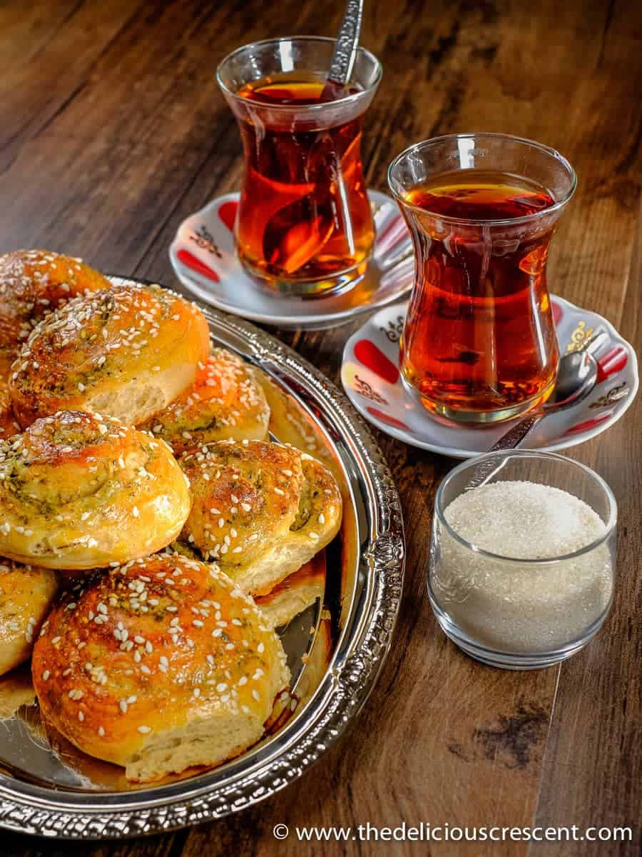 Zaatar and Parmesan Cheese Bread Rolls, a delightful savory brunch treat with flaxseeds, healthy fats, fiber rich and a robust flavor! These bread rolls are inspired by the flavors of the Mediterranean.