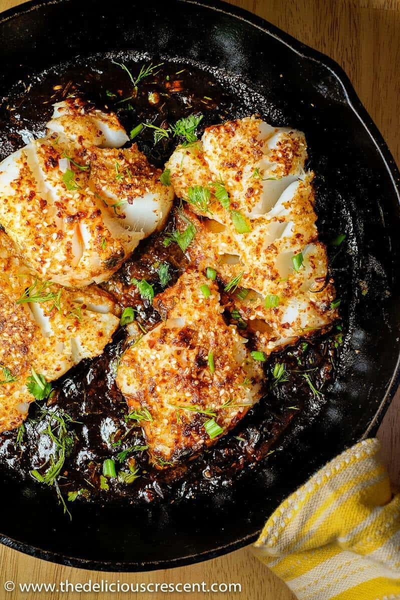 Spicy Pan Seared Fish With Tamarind Sauce The Delicious