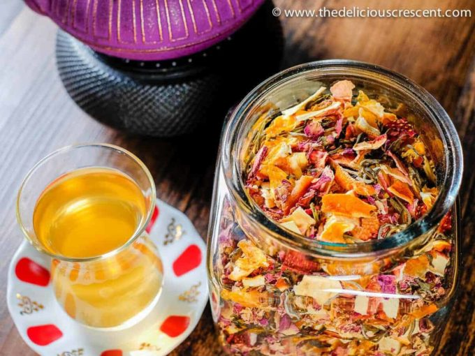 5 interesting recipes for delicious fruit tea