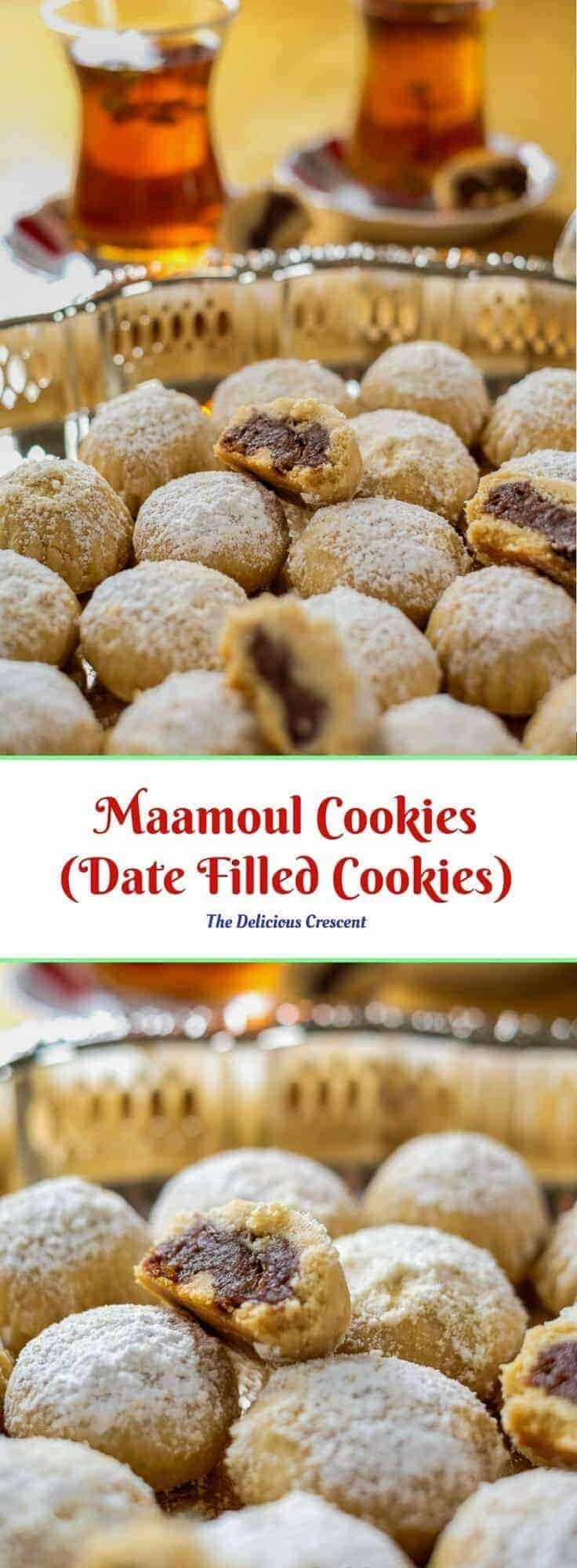 These famous Maamoul cookies will melt in your mouth and are utterly scrumptious. Naturally sweetened with dates, they have minimal added sugar.