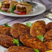Salmon Fish Cakes Pin Image