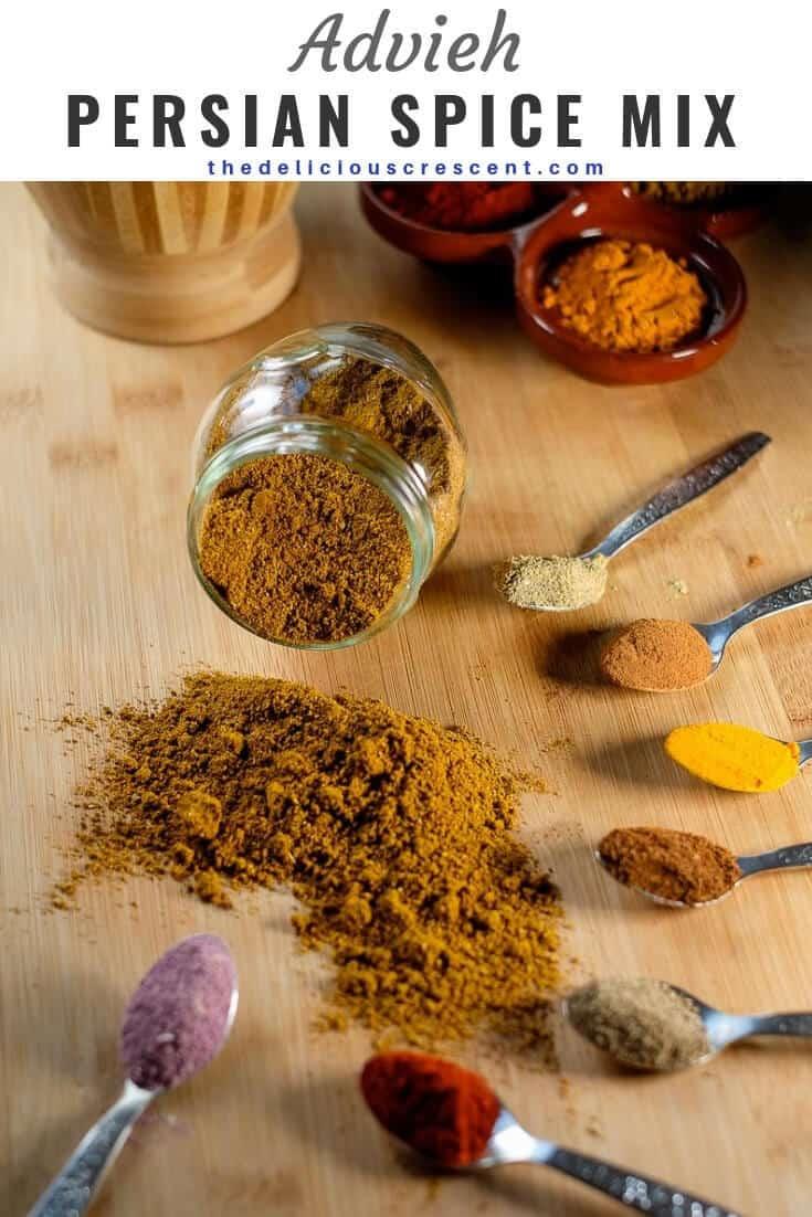 Advieh (Persian Spice Mix)