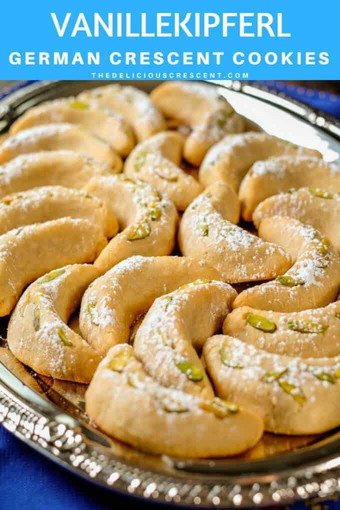 Vanillekipferl German Crescent Cookies The Delicious Crescent