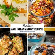 A collection of best recipes that provide anti inflammatory benefits.