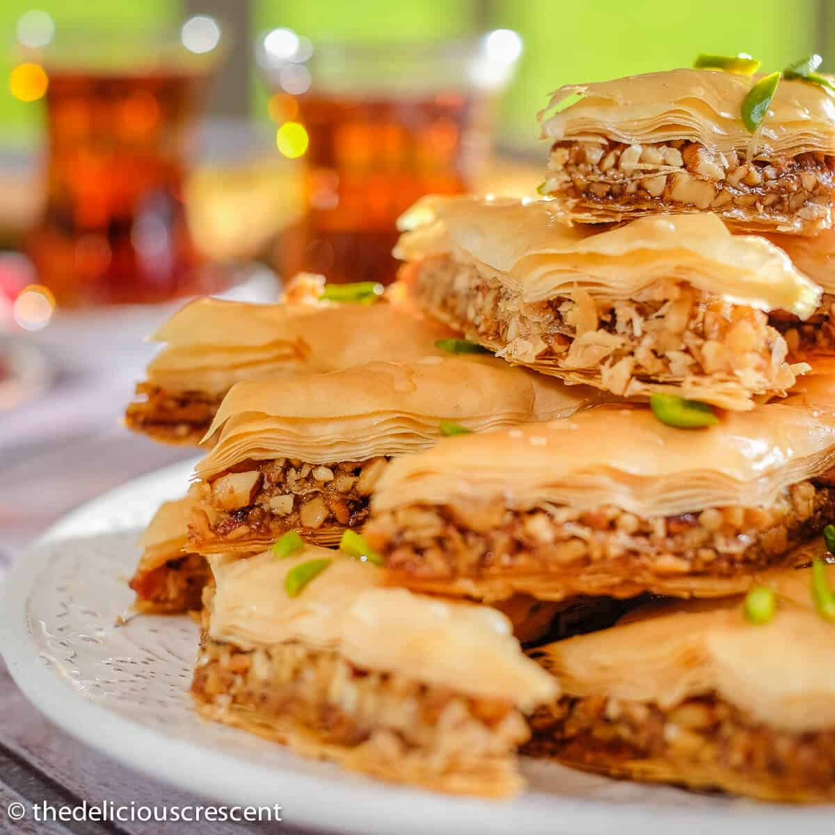 Baklava Recipe Persian Style The Delicious Crescent