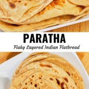 Paratha pin image with different views.