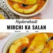 Mirchi Ka Salan pin image.